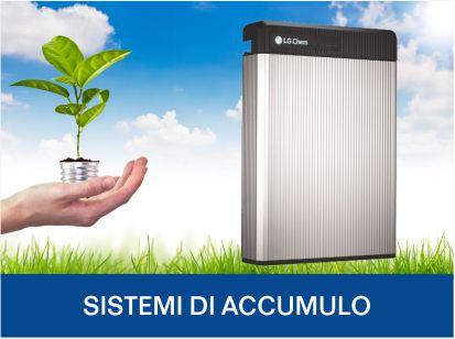 Sistemi di accumulo energia